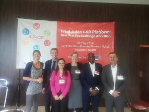 Best Practice Exchange Workshop on Corporate Social Responsibility (CSR) in the Fruit Juice Sector
